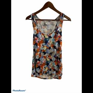 3/$30 dynamite racer back multicoloured tank top